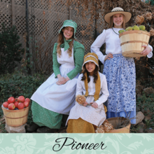 Pioneer Costumes and Youth Trek Clothing