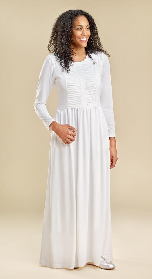 Adagio Temple Dress - $98 | White Elegance