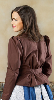 Brown LDS Prairie Jacket