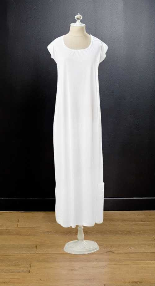 Cap Sleeve Slip #1031 by White Elegance - Temple Dress Temple Dress Slip