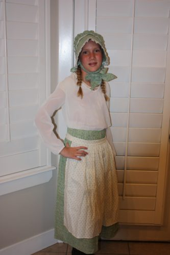 Children's Pioneer Skirt  #4605C photo review