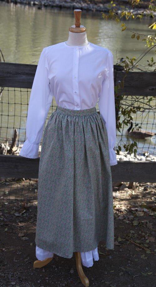 Pioneer Skirt - $23.99 | White Elegance