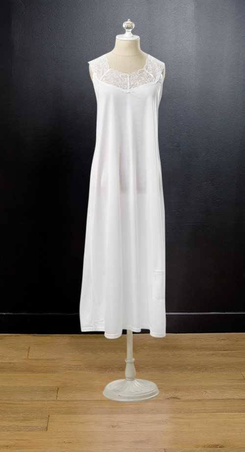 Camisole Slip #1025 by White Elegance - Temple Dress Temple Dress Slip