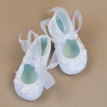 Organza and Rose Shoe