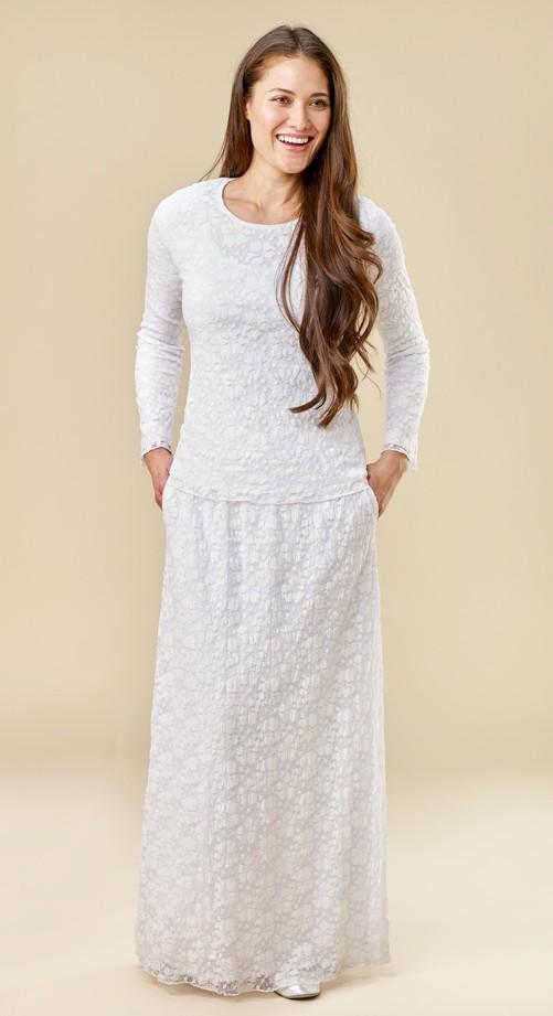 PebbleLace-skirt-top