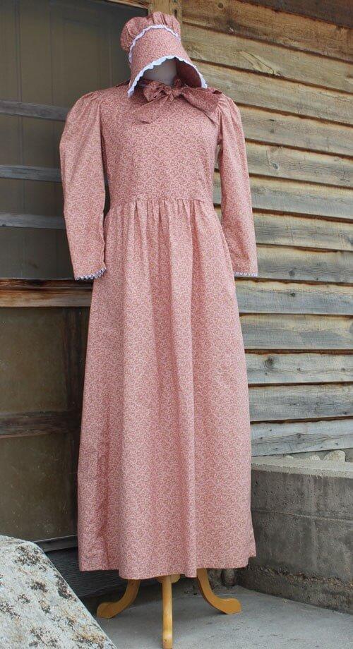 White prairie dresses