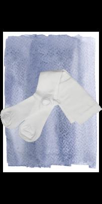 White-Support-Socks-481 B