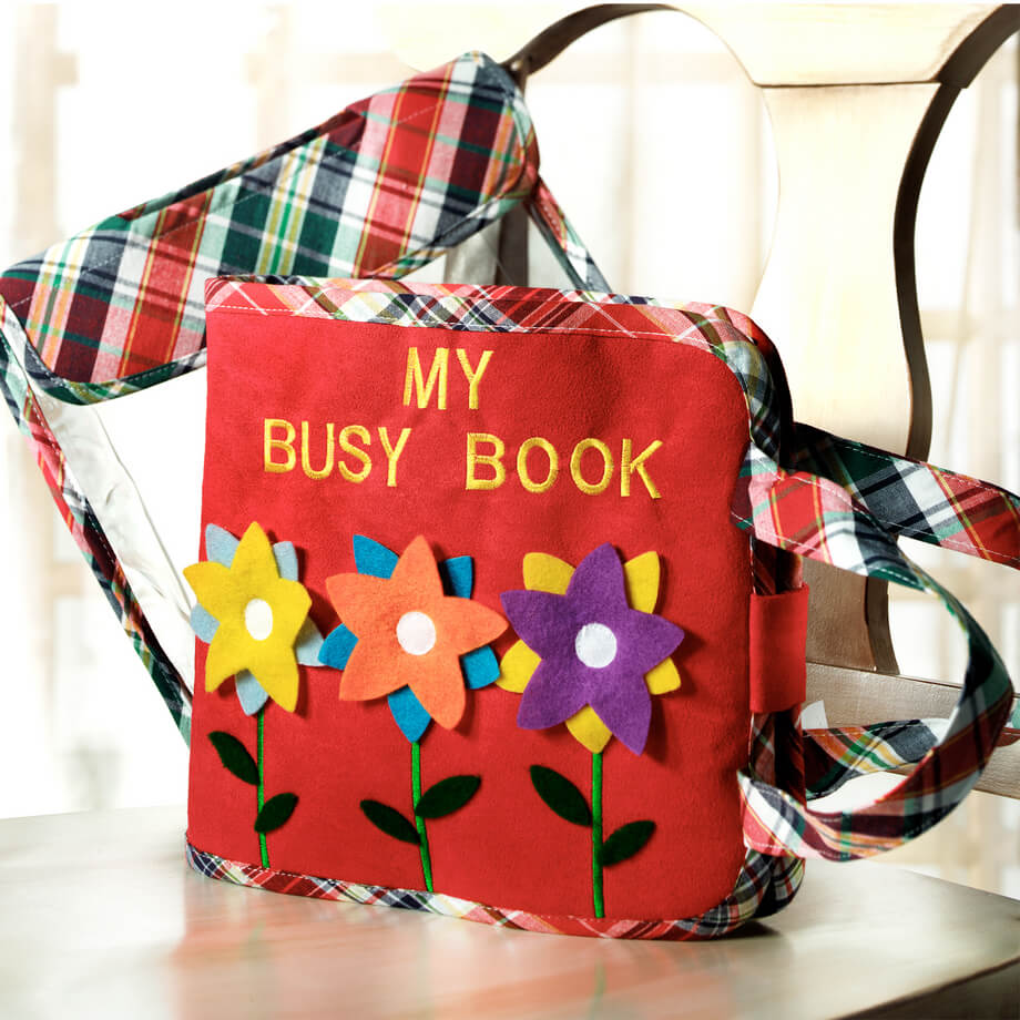 Busy Book - $34.99 | White Elegance