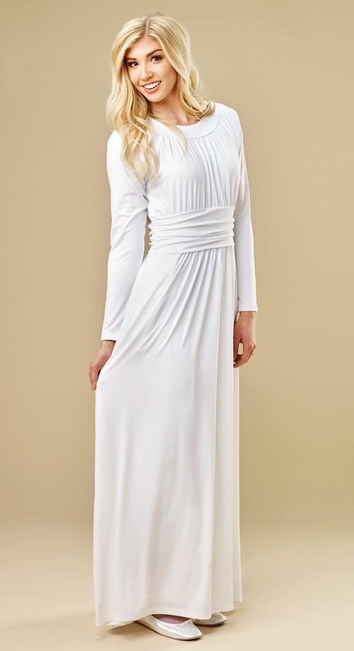 Cambre Temple Dress - $98 | White Elegance