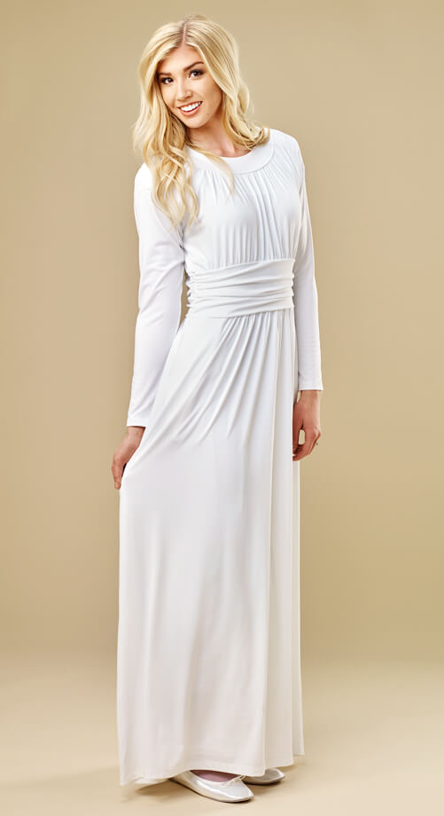 Cambre Temple Dress 98 White Elegance