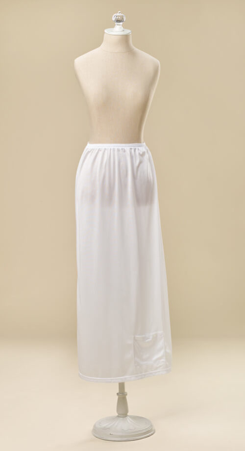 Long Half Slip #1030 by White Elegance - Temple Dress Temple Dress Slip