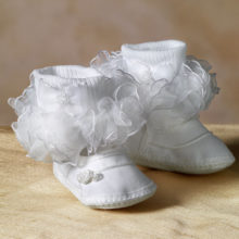 infant ruffled socks