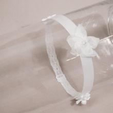 lace and satin headband