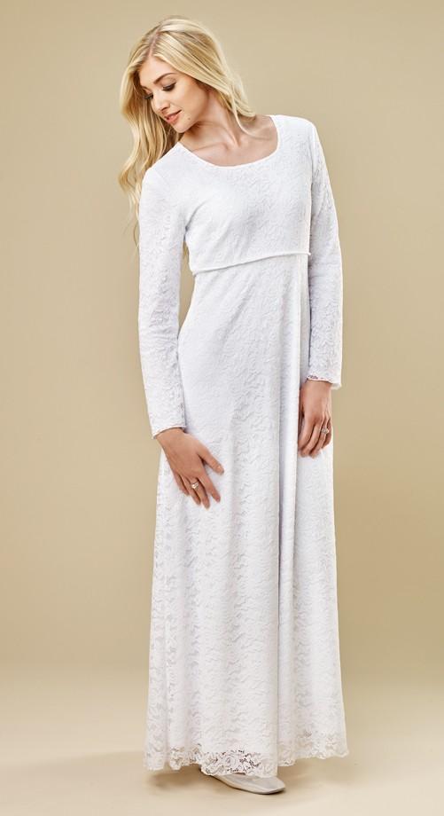 Venice Temple Dress - $98 | White Elegance