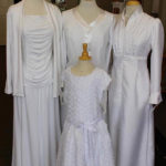 White LDS Temple Dress