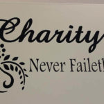 Charity Never Faileth Vinyl