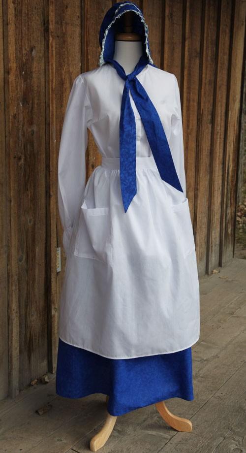 3438-white-pioneer-apron