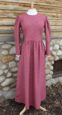 burgundy-pioneer-dress