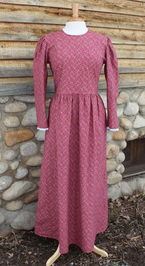 pioneer woman clothing. burgundy-pioneer-dress pioneer woman clothing