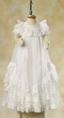 096b40fbccc64 Infant Girl Baby Blessing Outfits | White Elegance