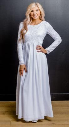 London #1133 by White Elegance - Temple Dress