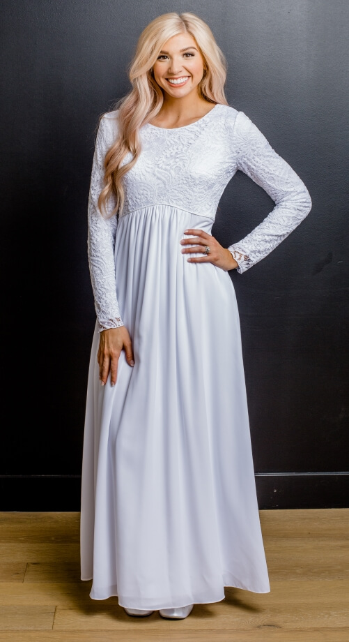 London #1133 by White Elegance - Temple Dress