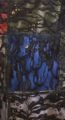 Sequin-lace