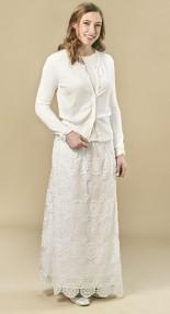 Crocheted-skirt