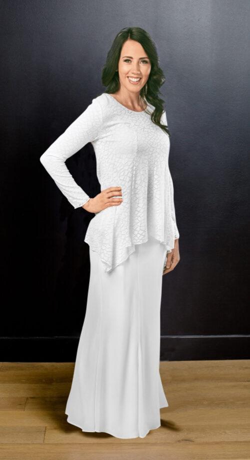 Windsor Set #8534 by White Elegance - Temple Dress Set