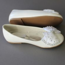 LDS Baptism Shoe Girl Leather