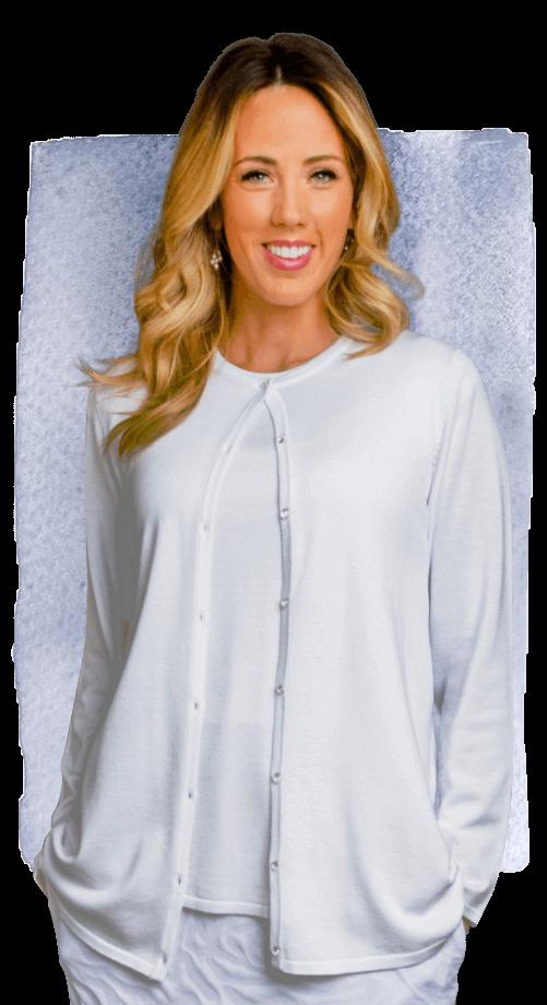 e1bb973d324303 Sweater Set #HE003 - White Elegance