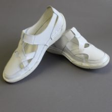 White LDS Temple Shoe Support