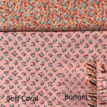 Soft coral set w bonnet