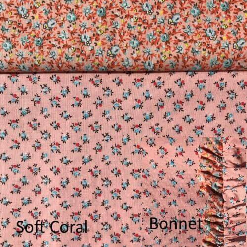 Soft coral set w bonnet
