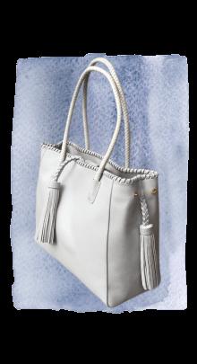 bag grey side