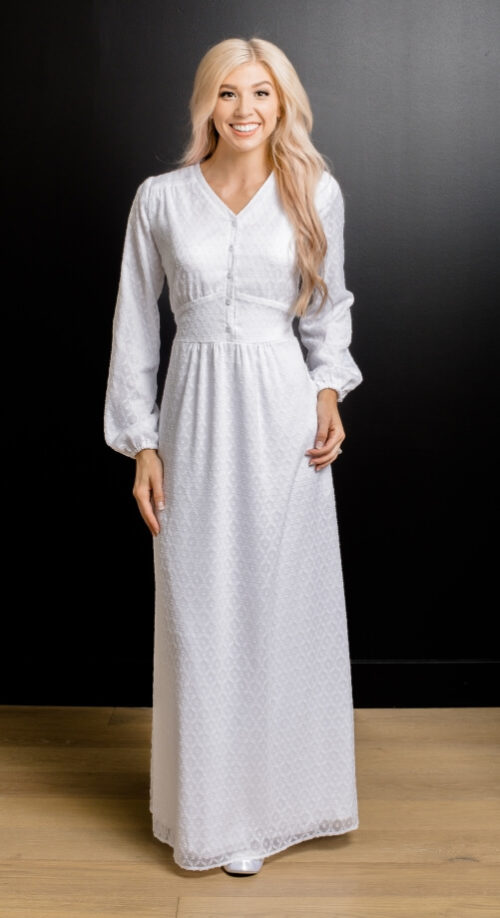 Prague II Swiss Dot #2250 NEW by White Elegance - Temple Dress
