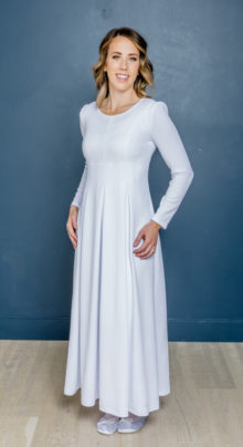 San Salvador #1146 by White Elegance - Temple Dress