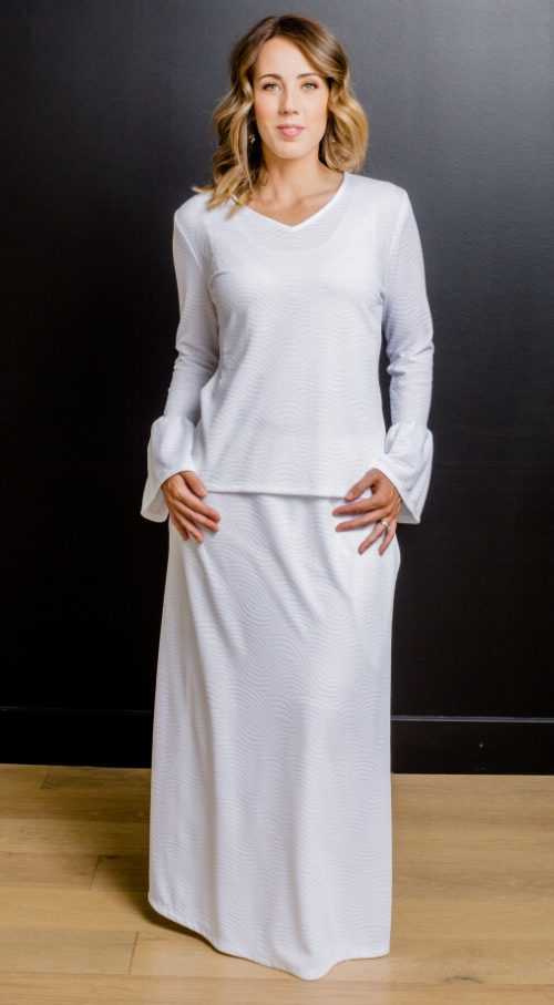 Siena #1144 NEW by White Elegance - Temple Dress