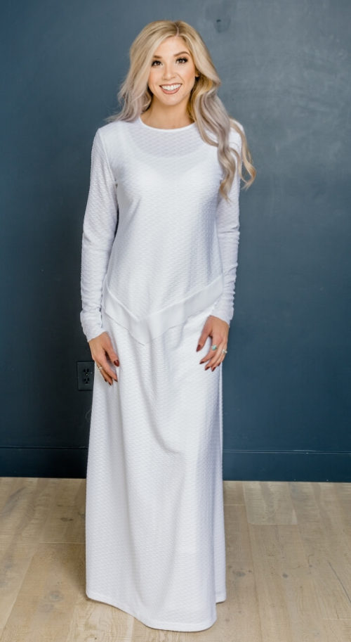 Helsinki Set #8533 by White Elegance - Temple Dress
