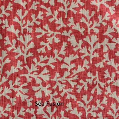 Sea Fusion Long Temple Fabric