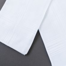 Detailing Mens Temple Hankerchief LDS