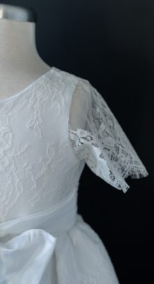 Lace Detailing LDS Baptism Dress