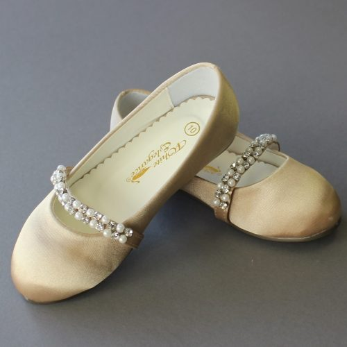 Waterlily Girls LDS Baptism Shoe
