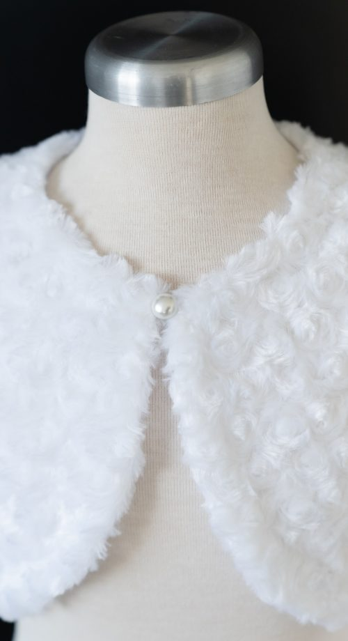 Pearl Button LDS Baptism Jacket