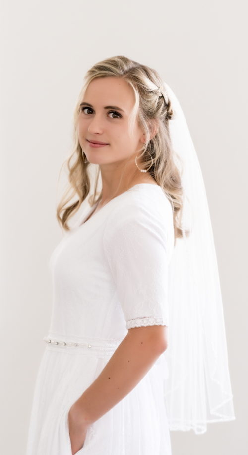 Simple Affair Wedding Dress - Modest & Affordable - Under $100