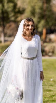 Springville Wedding Dress - Affordable Lace Wedding Dress