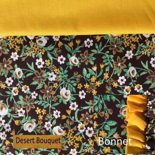 Desert Bouquet set w bonnet